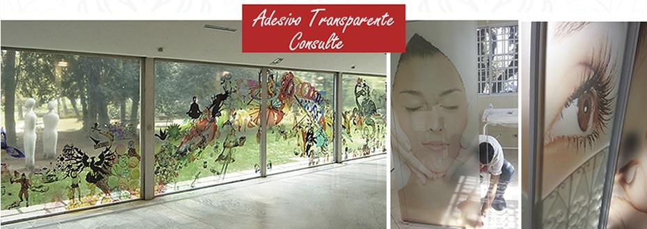 adesivo de parede transparente