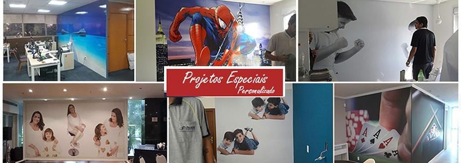 Adesivo de parede projetos especiais personalizados